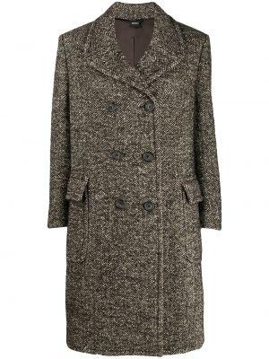 Пальто из альпаки - коричневое Aspesi
