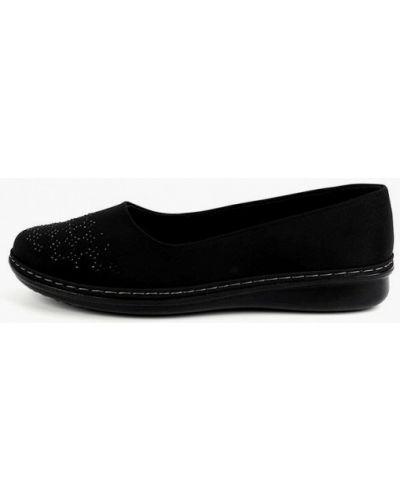 Черные текстильные туфли Berten