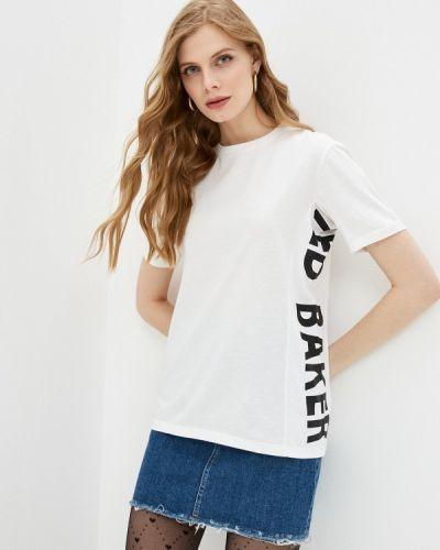 С рукавами белая футболка Ted Baker London