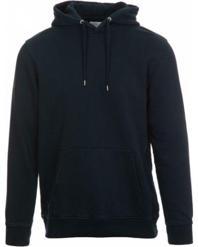 Niebieski sweter Colorful Standard