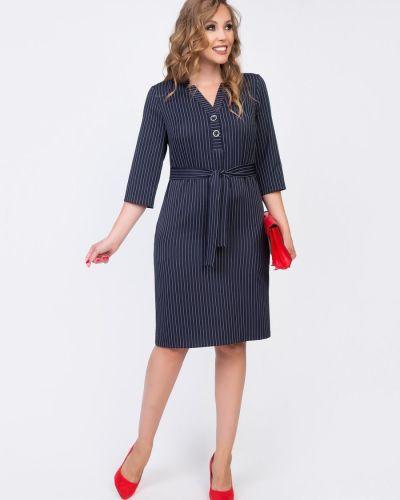 С рукавами платье-рубашка с вырезом на пуговицах Diolche