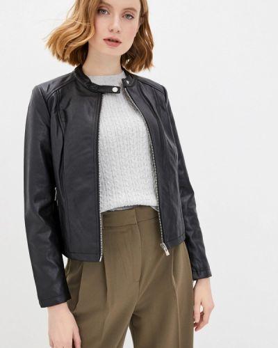 Клубная черная кожаная куртка Concept Club