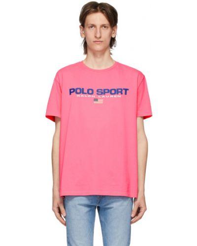 Koszula krótkie z krótkim rękawem z logo z nadrukiem Polo Ralph Lauren