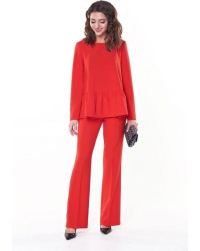 Блузка с длинным рукавом с разрезом Valentina