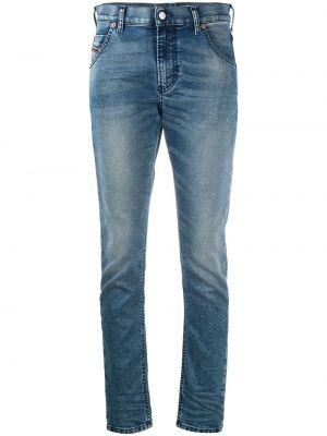 Prosto niebieski bawełna jeansy chłopaki z kieszeniami Diesel