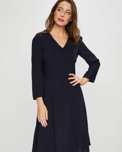 Платье миди с V-образным вырезом с длинными рукавами Silvian Heach