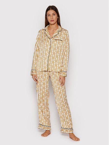 Piżama - beżowa Dkny
