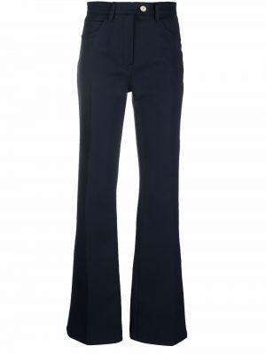 Niebieskie klasyczne spodnie Courreges