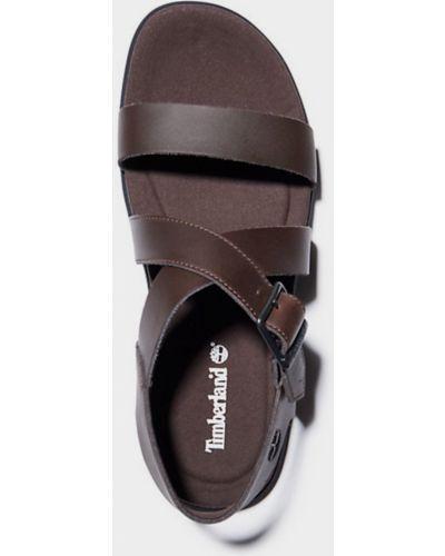 Коричневые сандалии Timberland