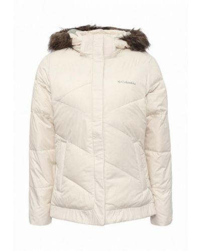 Зимняя куртка утепленная осенняя укороченная Columbia