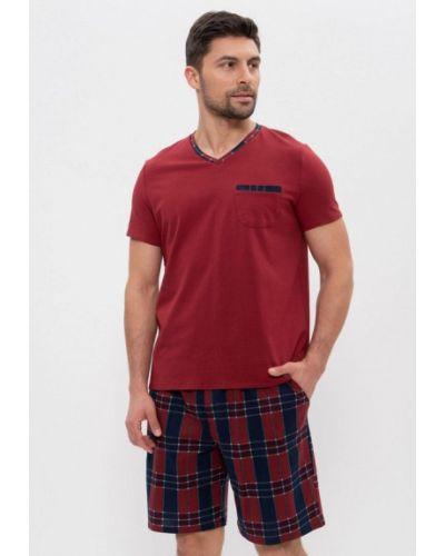 Пижамная домашняя красная пижама Cleo