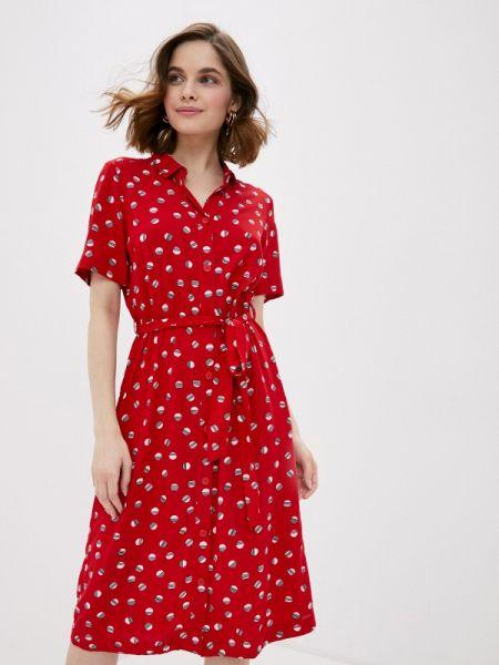 Красное платье Q/s Designed By