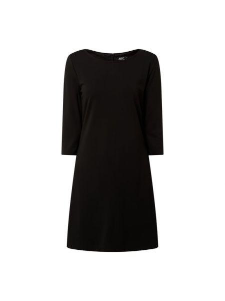 Czarna sukienka z wiskozy Only