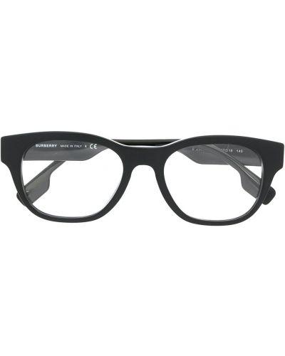 Prosto czarny oprawka do okularów plac Burberry Eyewear