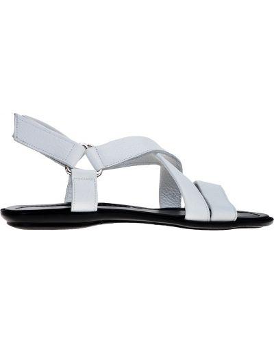 Белые кожаные сандалии Doucal's