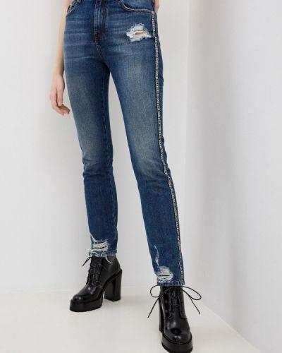 Зауженные джинсы - голубые John Richmond