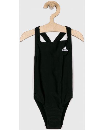 Черный слитный купальник Adidas Performance