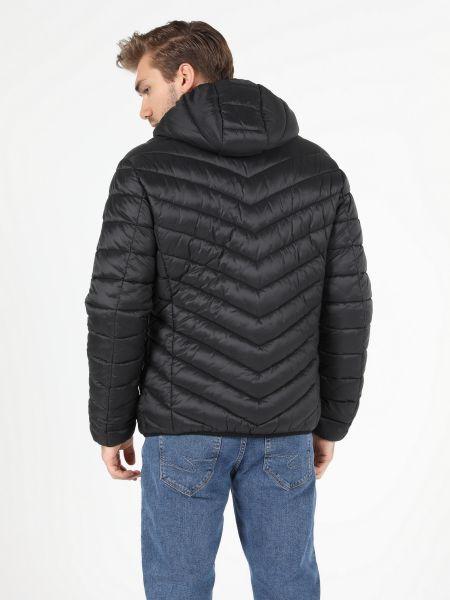 Стеганая куртка - черная Colin's