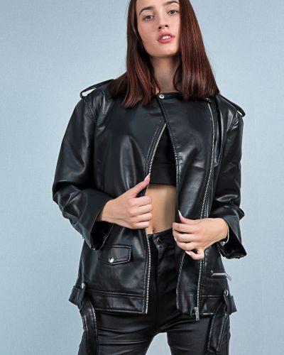 Черная куртка осенняя Aftf Basic