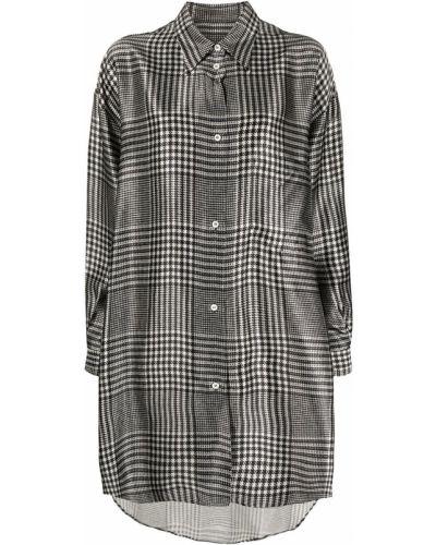 Рубашка оверсайз - черная Mm6 Maison Margiela