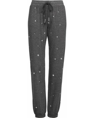 Флисовые брюки на резинке с манжетами Pj Salvage