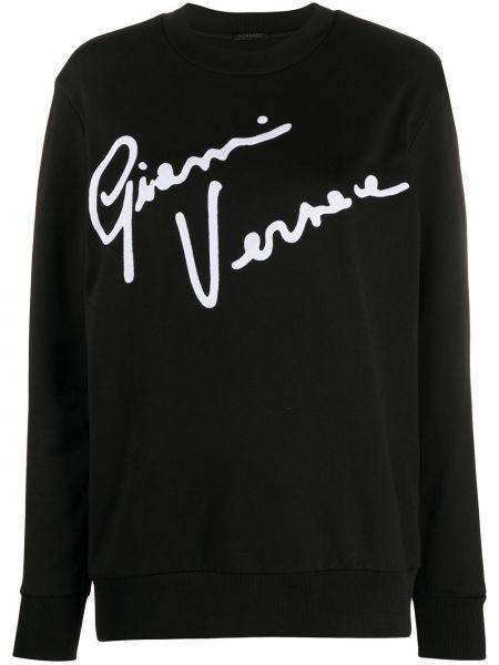 Топ с надписями свободный Versace