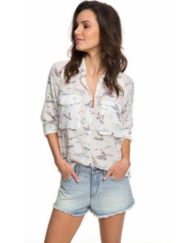 Белая блузка Roxy
