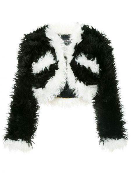 Хлопковая белая куртка винтажная Chanel Pre-owned