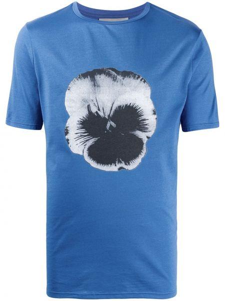 Koszula krótkie z krótkim rękawem prosto z nadrukiem Frankie Morello