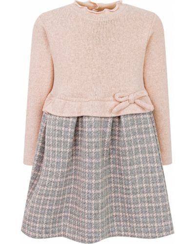 Хлопковое платье - серое Aletta