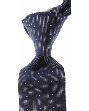 Szary krawat z jedwabiu Belvest