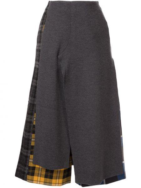Укороченные брюки с завышенной талией брюки-хулиганы Enföld