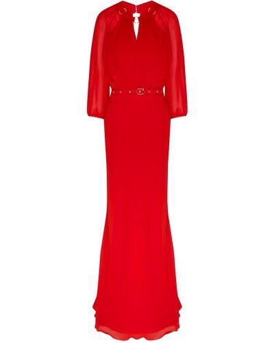 Платье макси с поясом годе Laroom