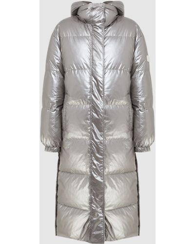 Пуховая куртка - серая Yves Salomon Army