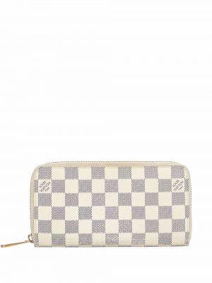 Złoty portfel - biały Louis Vuitton