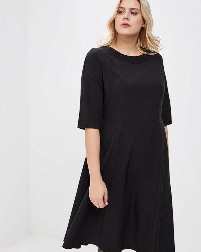 Джинсовое платье - черное Tutto Bene Plus