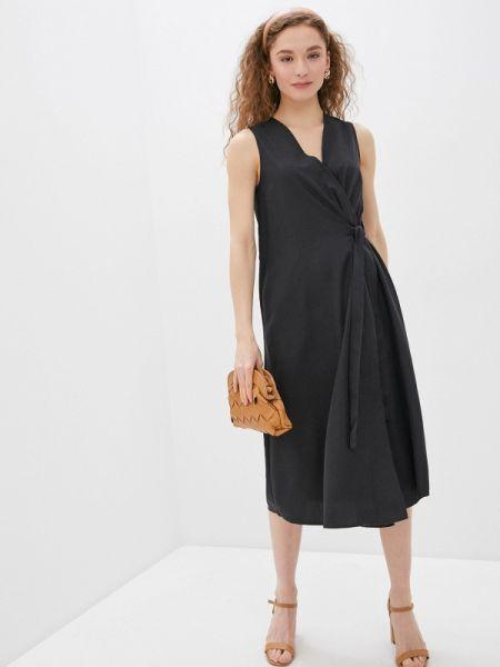 Повседневное платье черное весеннее Savage