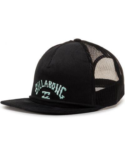 Czarna czapka z daszkiem Billabong