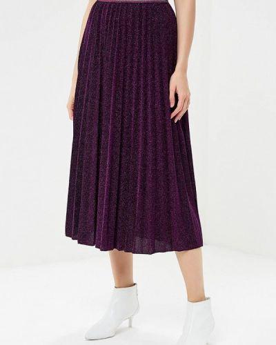 Плиссированная юбка итальянский фиолетовый Miss Miss By Valentina