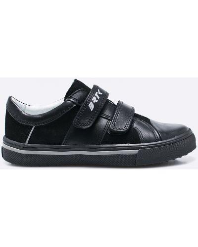Черные кеды кожаные Bartek