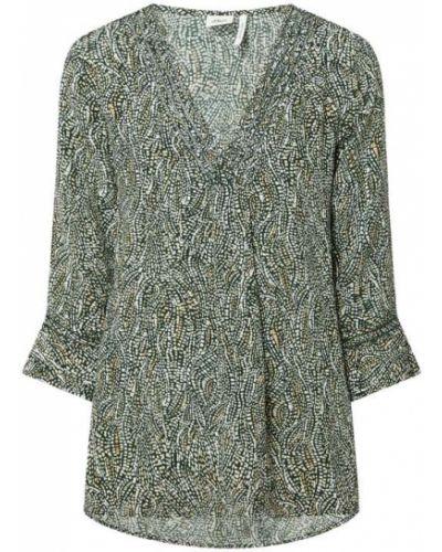Bluzka z wiskozy - czarna S.oliver Black Label