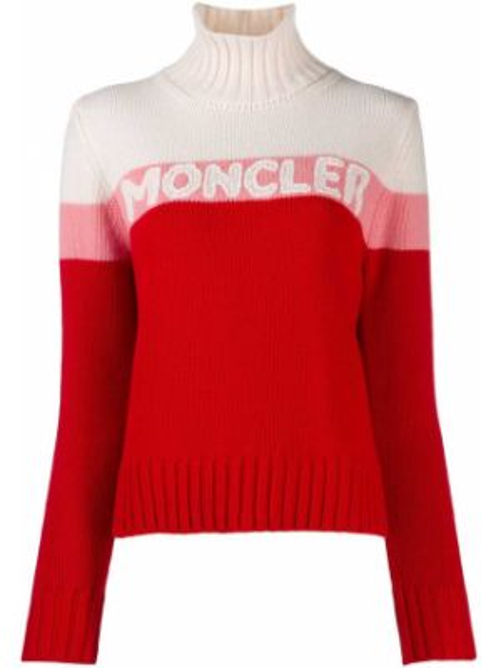 Z kaszmiru sweter Moncler