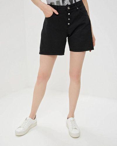 Джинсовые шорты черные Gaudi
