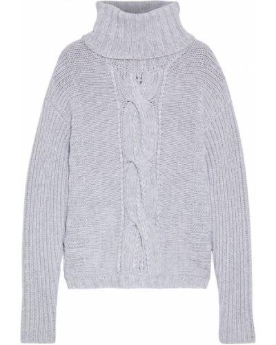 Серый шерстяной свитер Duffy