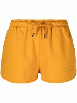Желтые шорты с карманами Isabel Marant étoile
