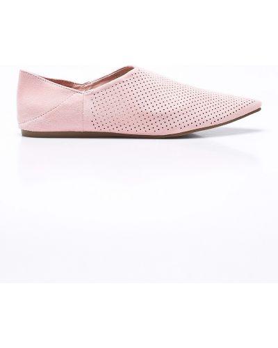 Розовые балетки текстильные Answear