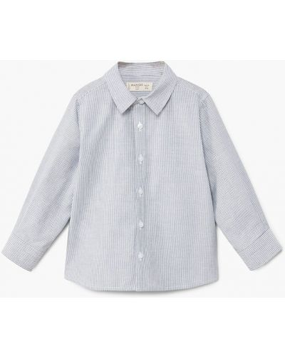 Серая рубашка Mango Kids