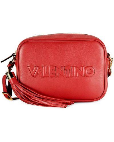 Кожаная косметичка Valentino By Mario Valentino