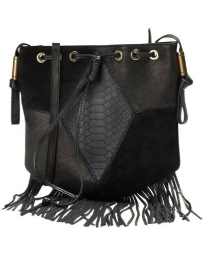 Czarny portfel Ba&sh