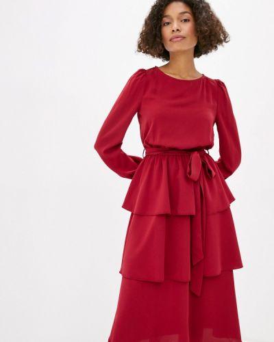 Прямое красное платье Little Mistress